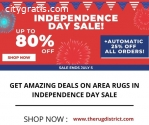 Get Amazing Deals on Area Rugs in Indepe