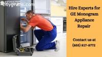 Get Best GE Monogram Appliance Repair