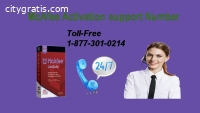 Get complete assistance from McAfee Acti
