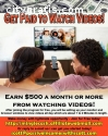 Get Paid To Watch Videos!