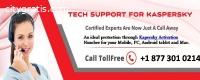 Get quick tech support on Kaspersky Cust