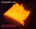 Glow in the dark enamel TAT 33 from lead
