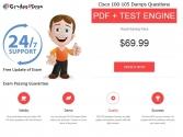 Grades4sure: Cisco 100-105 Exam Dumps