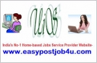 Home based internet jobs only for studen