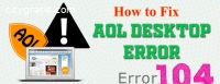 How To Fix Aol Error 104?