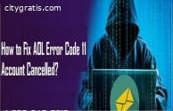 How to Fix AOL Error Code 11 Account Can