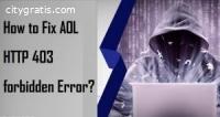 How To Fix AOL HTTP 403 Forbidden Error?