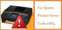 How To Fix Epson Printer Error Code 0XF4