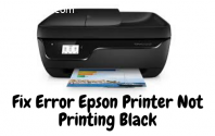 How To Fix Epson Printer Not Printing Bl