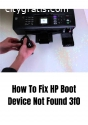 How To Fix HP Boot Device Not Found 3f0?