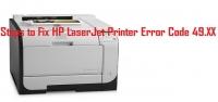 How To Fix HP LaserJet Printer Error Cod
