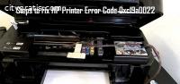 HP Printer Error Code 0xc19a0022