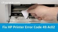 How To Fix HP Printer Error Code 49.4c02