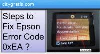 How To Resolve Epson Error Code 0xea?