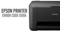 How to Resolve Epson Printer Error Code