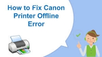 How to Resolve the Issue of Canon Printe