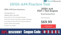 HP HPE6-A44 Practice Test