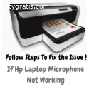 Hp Laptop Microphone Not Working? Get Is