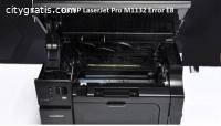 HP Laserjet Pro m1132 Error e8