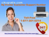 HP printer customer number 1-877-301-021