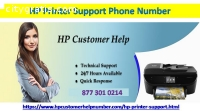 Hp Printer Support Number USA