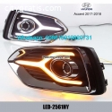 Hyundai Accent 17-18 DRL LED Lights