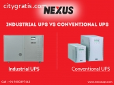 Industrial UPS & Conventional UPS