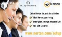 Install Norton from www.norton.com/setup