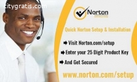 Installing Norton software to computer,
