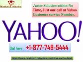 Just one call at Yahoo Customer service
