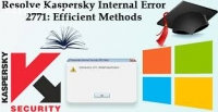 Kaspersky Antivirus Error Code 2771