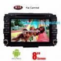 Kia Carnival car audio radio android wif