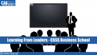 Learning From Leaders - CSSS Business Sc