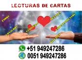LECTURAS DE CARTAS, DESCUBRE TU FUTURO