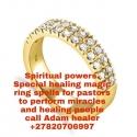 MAGIC RING SPELLS FOR  PASTORS
