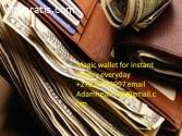 Magic wallet spells that delivers money