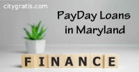 Maryland Payday Loans Online
