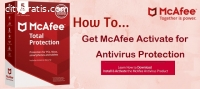 McAfee.com/Activate - Download,Install a
