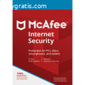 McAfee Internet Security - 3-Years / 1-D