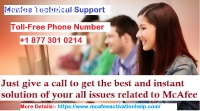 Mcafee Technical Support Phone Number