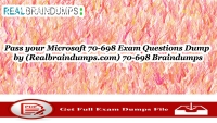 Microsoft 70-698 Dumps Question Answers