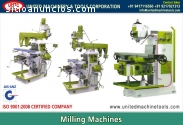 Milling Machines Manufacturers Exporters