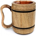 Multipurpose Handmade wooden copper Cup