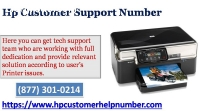 Need Support | Contact Hp Customer