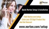 norton.com/setup - Enter a Product Key -