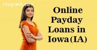 Online Payday Loans in Iowa(IA)