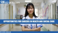 OPPORTUNITIES FOR CAREERS IN HEALTH AND