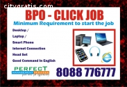 Part time BPO Job Income Rs. 18,000 /-