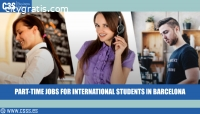 PART-TIME JOBS FOR INTERNATIONAL STUDENT