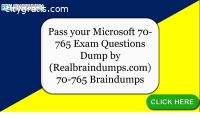 Pass your Microsoft 70-765 Exam With 70-